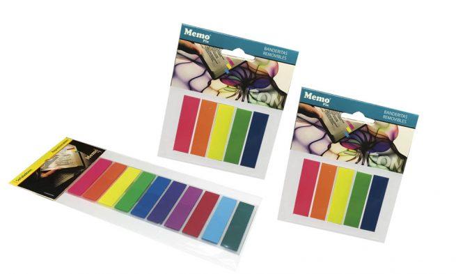 Colores Fluo Señaladores de pagina