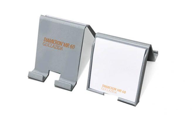 Porta Celular con Notas Adhesivas