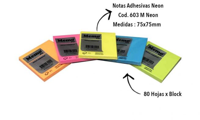 Fluo Sticky Notes