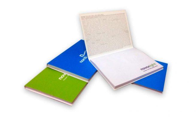 Tacos de Notas Adhesivas impresos